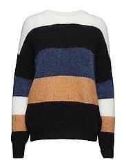Debbie striped pullover SO19 - MULTI STRIPES