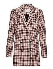 Obia blazer SO19 - RED/PINK/WHITE CHECK