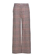 Sari pants SO19 - TAN CHECK