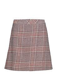 Sari skirt SO19 - TAN CHECK