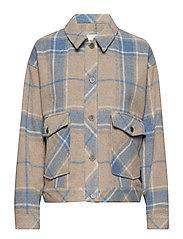 Havana jacket SO19 - TAN CHECK