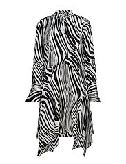 Siwra dress SO19 - ZEBRA AOP