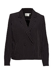 Nala blazer SO19 - BLACK PINSTRIPE