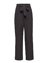 Nala pants SO19 - BLACK PINSTRIPE