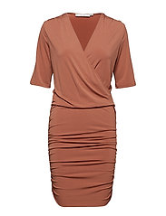 Hallie dress - RUSSET