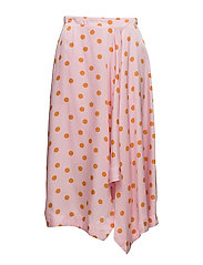 Elsie skirt ZE2 18 - PINK ORANGE DOT