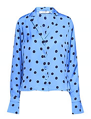 Elsie shirt ZE2 18 - BLUE/NAVY DOT