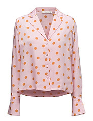 Elsie shirt ZE2 18 - PINK ORANGE DOT
