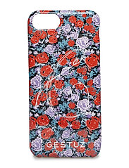 Mobile covers TPU MS19 - SMALL RED ROSE