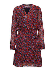 Rosanna dress MS19 - SMALL RED ROSE
