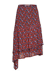 Rosanna skirt MS19 - SMALL RED ROSE