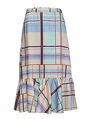 Ambina skirt MS19 - MULTI CHECK
