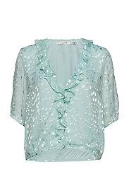 Merika blouse MS19 - BLUE HAZE