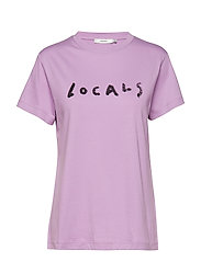 Locals tee MS19 - SHEER LILAC