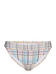 Pilea bikini bottom MS19 - MULTI CHECK