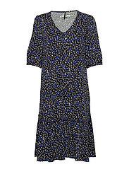 JustinaGZ dress HS19 - SMALL BLUE FLORAL