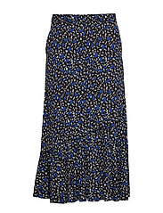 JustinaGZ skirt HS19 - SMALL BLUE FLORAL