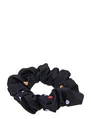 MinelleGZ hair elastic HS19 - BLACK MULTI DOT