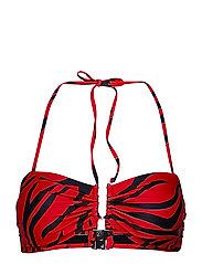 CanaGZ bikini top - RED CORAL