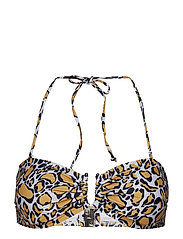 CanaGZ bikini top - YELLOW ANIMAL
