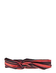 MinelleGZ hairband AO19 - BLACK MULTI STRIPE