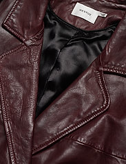 Gestuz - BetzyGZ jacket AO19 - leather jackets - port royale - 3