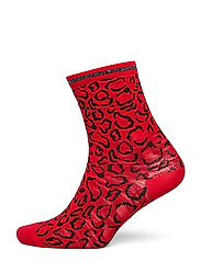 HaniGZ socks AO19 - RED ANIMAL