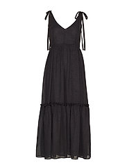 LonaGZ long dress AO19 - BLACK