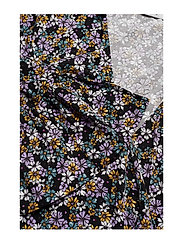 Gestuz - FayaGZ wrap dress ZE1 19 - wrap dresses - purple/black flower - 2