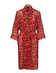 LynxGZ kimono B - RED FLOWER