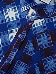 Gestuz - LuanneGZ shirt MA19 - lyhythihaiset puserot - blue check - 3