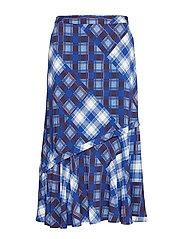 LuanneGZ skirt MA19 - BLUE CHECK
