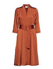 KamrynGZ dress MA19 - UMBER