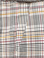 Gestuz - GinnieGZ pants MA19 - suorat housut - red/yellow check - 3