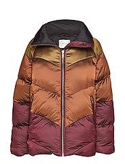 HelinGZ OZ jacket MA19 - UMBER/YELLOW