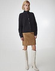 Gestuz - CharGZ mini skirt - lyhyet - bone brown - 0