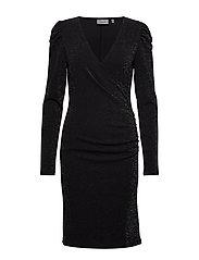 SolinGZ dress YE19 - BLACK