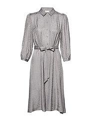 BabetGZ dress YE19 - GRAY FLANNEL