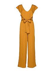 JustaGZ jumpsuit YE19 - BONE BROWN
