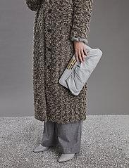 Gestuz - RyssaGZ coat YE19 - sztuczne futro - alloy - 3