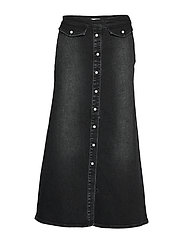 AstridGZ long skirt - WASHED BLACK