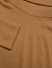 Gestuz - WilmaGZ rollneck - t-shirts basiques - bone brown - 5