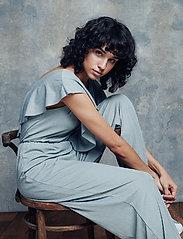 Gestuz - EbruGZ jumpsuit BZ - combinaisons - gray flannel - 0