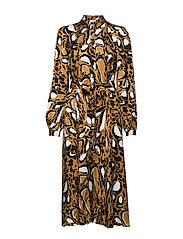 LoriGZ dress SO20 - BROWN LEO