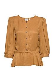 MerleGZ blouse SO20 - BONE BROWN
