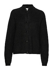 DebbieGZ short cardigan - BLACK