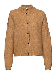 DebbieGZ short cardigan - BONE BROWN