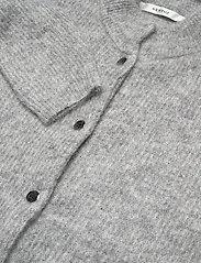 Gestuz - DebbieGZ short cardigan NOOS - cardigans - high-rise grey melange - 3