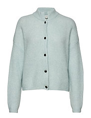 DebbieGZ short cardigan - ICED AQUA