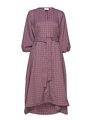 ZiellaGZ OZ dress SO20 - PURPLE CHECK
